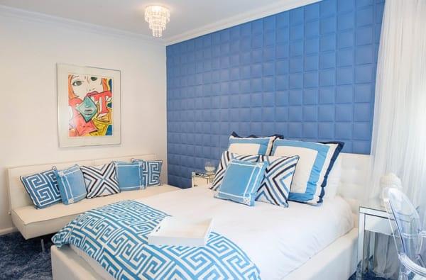 Kết quả hình ảnh cho Cách bố trí phòng ngủ phù hợp với người mệnh Thủy