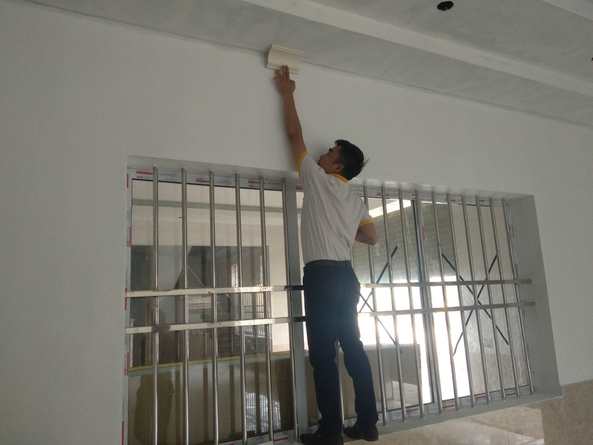 Việc xây lắp đơn giản hơn với tấm nhựa ốp tường