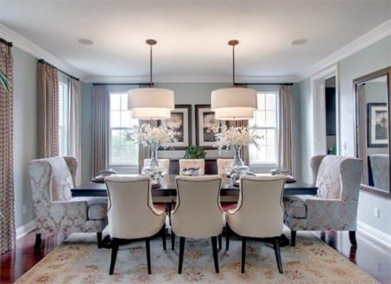 6 1 550x400 - Thiết kế phòng ăn theo phong cách