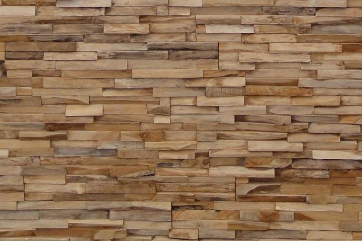 Phòng ốp tường bằng gỗ