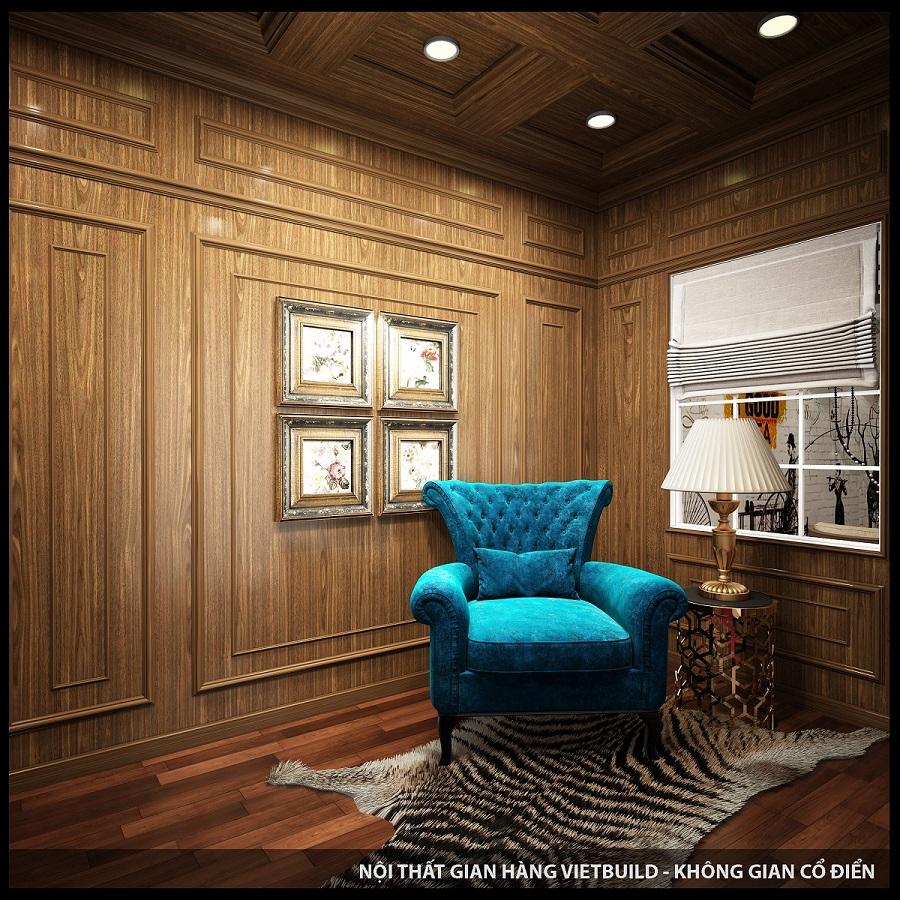 Tấm ốp tường vân gỗ