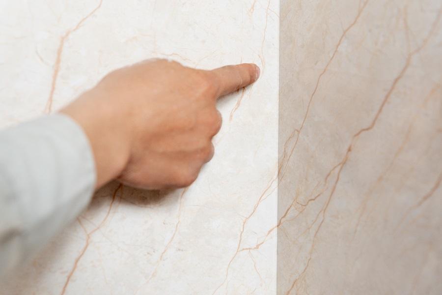 Các góc tường, cạnh tường, cột cần uốn tấm nhựa 90 độ