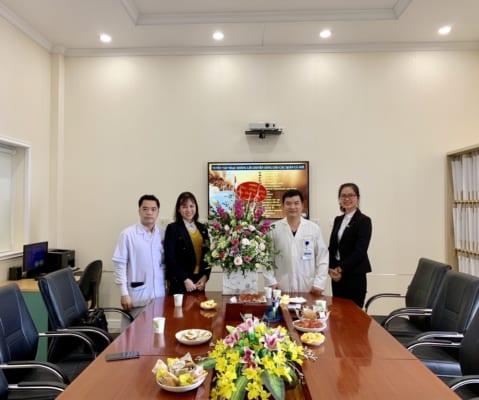 IMG 20190227 151047 479x400 - Công ty CP VLXD CNC An Cường thăm, chúc mừng ngày Thầy Thuốc Việt Nam 27/02