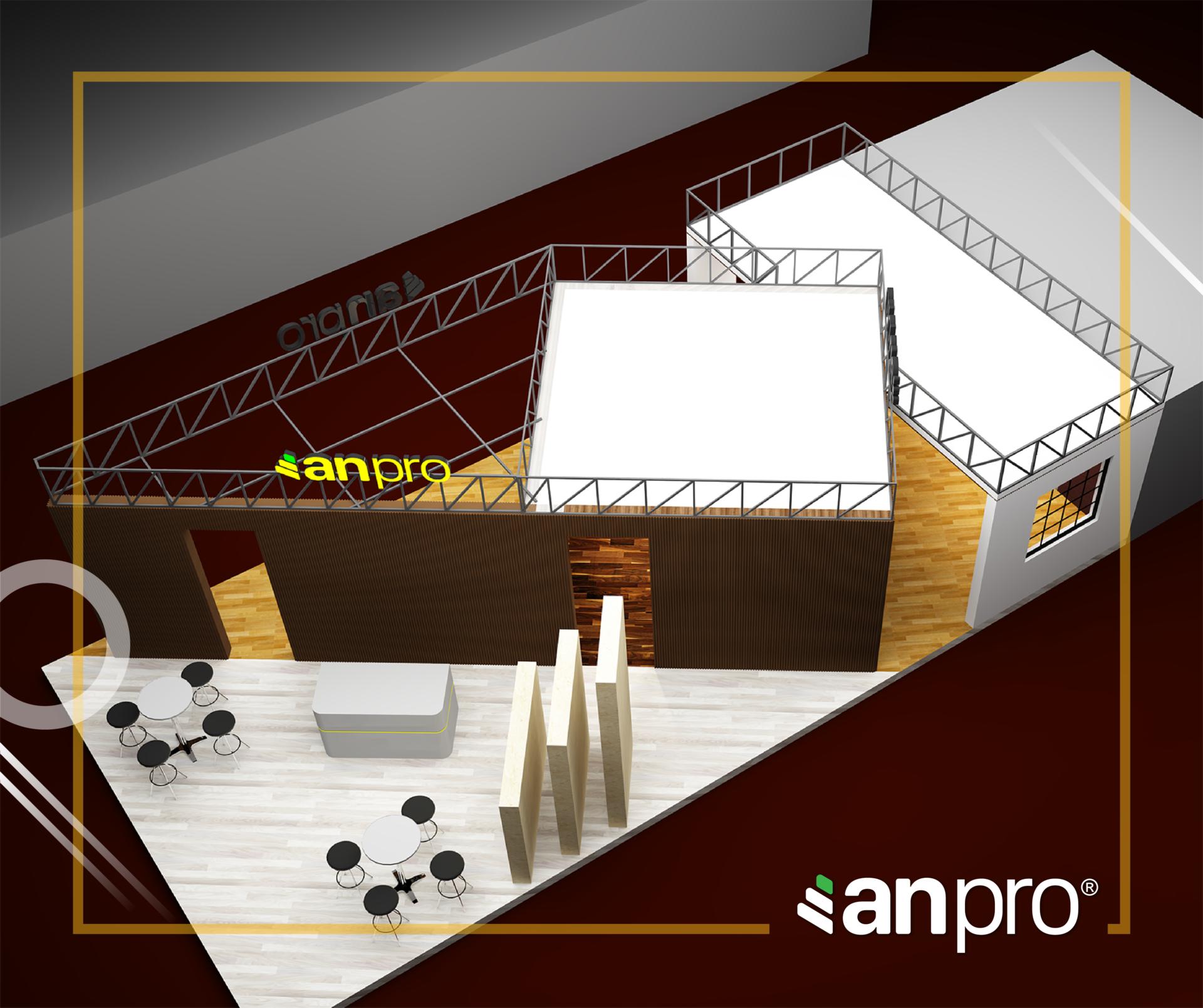 AnPro Vietbuild HCM 2 - TRẢI NGHIỆM KHÔNG GIAN MỞ ĐẦY SÁNG TẠO CỦA ANPRO TẠI VIETBUILD 2019