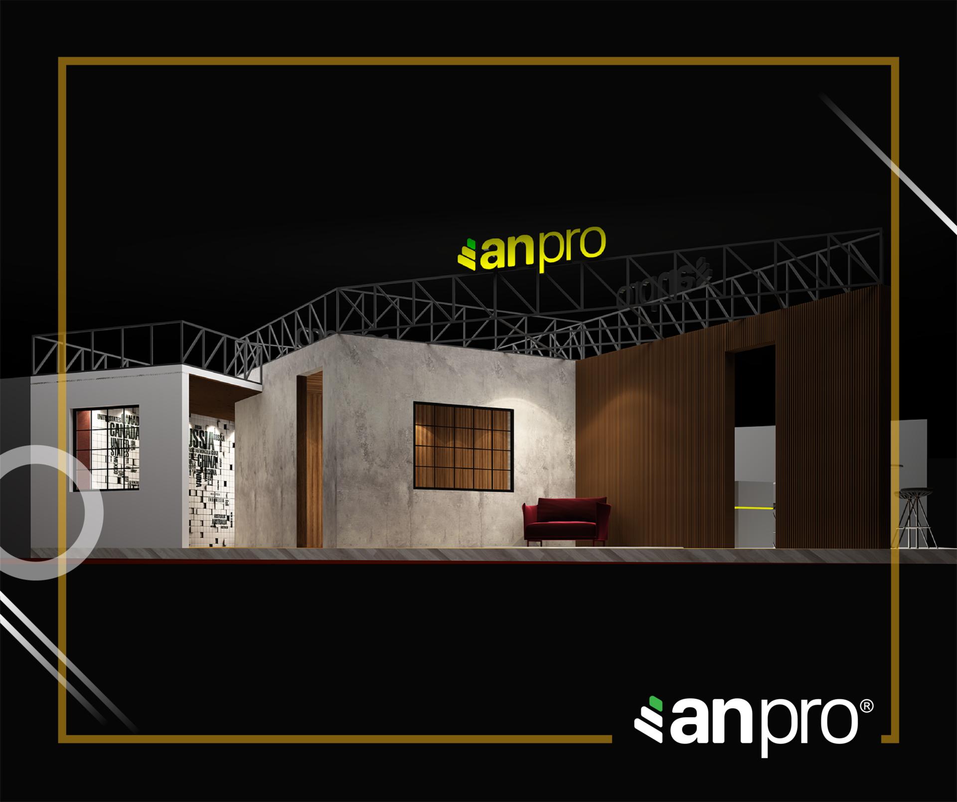 AnPro Vietbuild HCM - TRẢI NGHIỆM KHÔNG GIAN MỞ ĐẦY SÁNG TẠO CỦA ANPRO TẠI VIETBUILD 2019