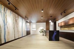 Sàn nhựa giả gỗ cho không gian thêm phần sang trọng