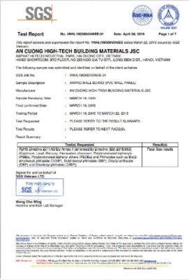 SGH Test report vnhl 271x400 - Kỹ thuật
