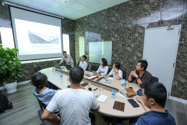 SON 4557 1 600x400 - Cùng kiến trúc sư Việt trải nghiệm thực tế nhà máy sản xuất AnPro