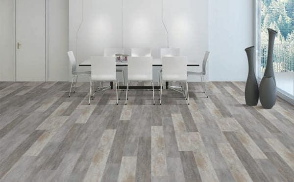 Văn phòng sử dụng sàn nhựa vân gỗ