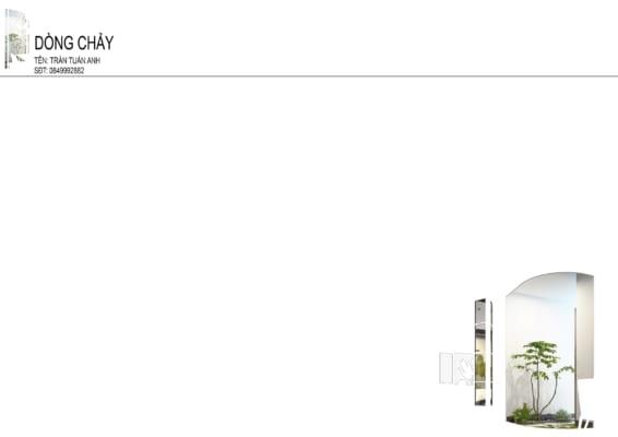 0001 2 566x400 - Bài dự thi của TRẦN TUẤN ANH – thiết kế căn hộ chung cư 95m2 dành cho cặp vợ chồng trẻ và cậu con trai 2 tuổi