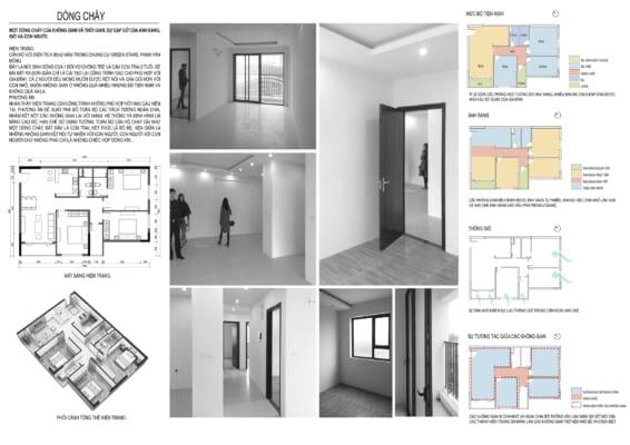 0002 2 566x400 - Bài dự thi của TRẦN TUẤN ANH – thiết kế căn hộ chung cư 95m2 dành cho cặp vợ chồng trẻ và cậu con trai 2 tuổi