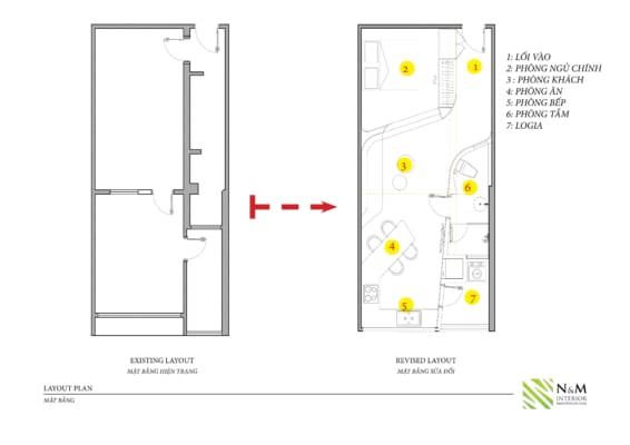 0004 566x400 - Bài dự thi N&M - Thiết kế lại khu căn hộ tập thể cũ ở Khương Thượng - Đống Đa - Hà Nội