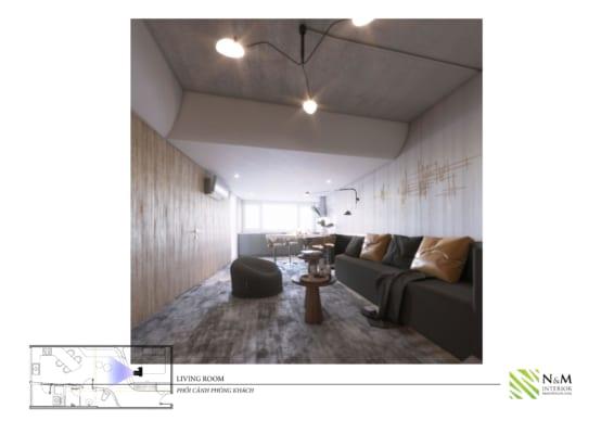 0010 566x400 - Bài dự thi N&M - Thiết kế lại khu căn hộ tập thể cũ ở Khương Thượng - Đống Đa - Hà Nội