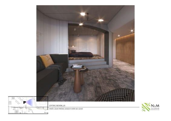 0011 566x400 - Bài dự thi N&M - Thiết kế lại khu căn hộ tập thể cũ ở Khương Thượng - Đống Đa - Hà Nội