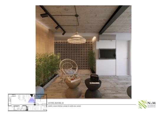 0012 1 566x400 - Bài dự thi N&M - Thiết kế lại khu căn hộ tập thể cũ ở Khương Thượng - Đống Đa - Hà Nội