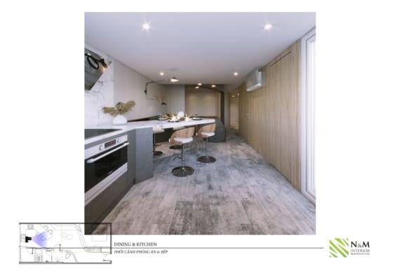0014 566x400 - Bài dự thi N&M - Thiết kế lại khu căn hộ tập thể cũ ở Khương Thượng - Đống Đa - Hà Nội
