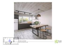 0015 1 283x200 - Bài dự thi N&M - Thiết kế lại khu căn hộ tập thể cũ ở Khương Thượng - Đống Đa - Hà Nội