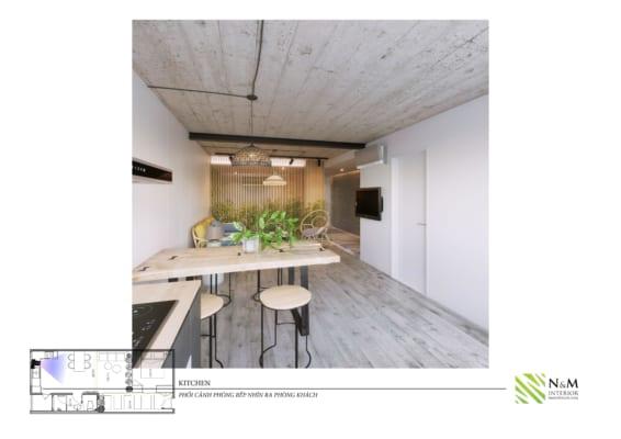 0016 1 566x400 - Bài dự thi N&M - Thiết kế lại khu căn hộ tập thể cũ ở Khương Thượng - Đống Đa - Hà Nội