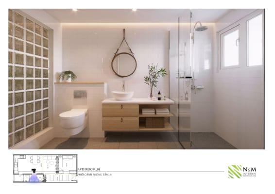 0017 1 566x400 - Bài dự thi N&M - Thiết kế lại khu căn hộ tập thể cũ ở Khương Thượng - Đống Đa - Hà Nội