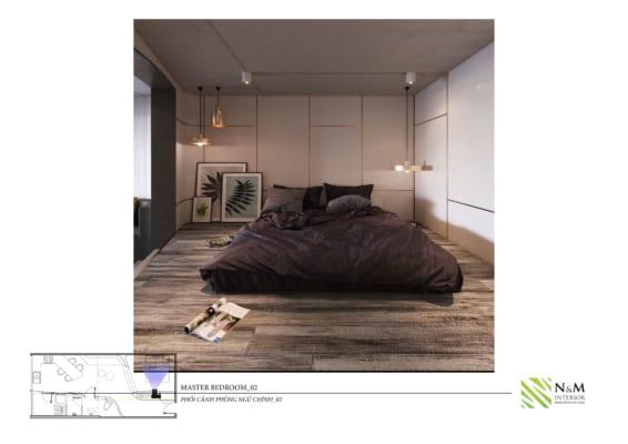 0018 566x400 - Bài dự thi N&M - Thiết kế lại khu căn hộ tập thể cũ ở Khương Thượng - Đống Đa - Hà Nội