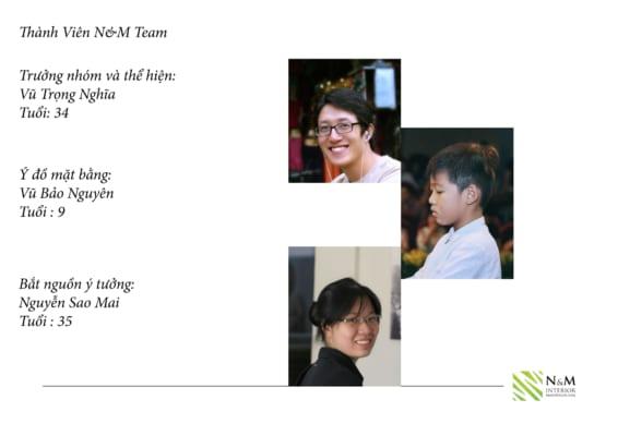 0021 566x400 - Bài dự thi N&M - Thiết kế lại khu căn hộ tập thể cũ ở Khương Thượng - Đống Đa - Hà Nội
