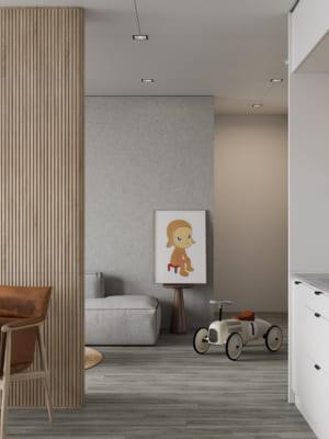 KHACH BEP 5 300x400 - Bài dự thi của TRẦN XUÂN NGHĨA - Thiết kế và cải tạo không gian nội thất khách bếp căn hộ Chung cư An Bình City.