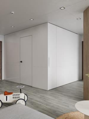 KHACH BEP 9 300x400 - Bài dự thi của TRẦN XUÂN NGHĨA - Thiết kế và cải tạo không gian nội thất khách bếp căn hộ Chung cư An Bình City.