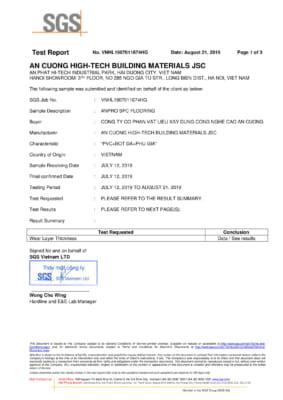 Test độ dày lớp Wear Layer ASTM F410 82017 1 283x400 - Chứng chỉ sản phẩm