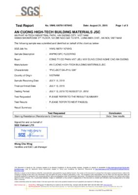 Test chống bay màu sàn SPC ASTM F925 13 1 283x400 - Chứng chỉ sản phẩm