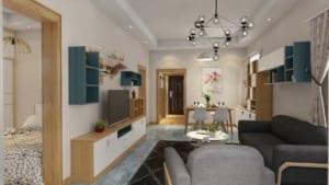Phòng khách 12 300x169 - Ứng dụng thiết kế