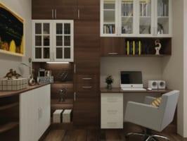 Phòng làm việc 2 266x200 - Ứng dụng thiết kế