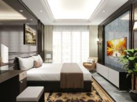 Phòng ngủ 1 267x200 - Ứng dụng thiết kế