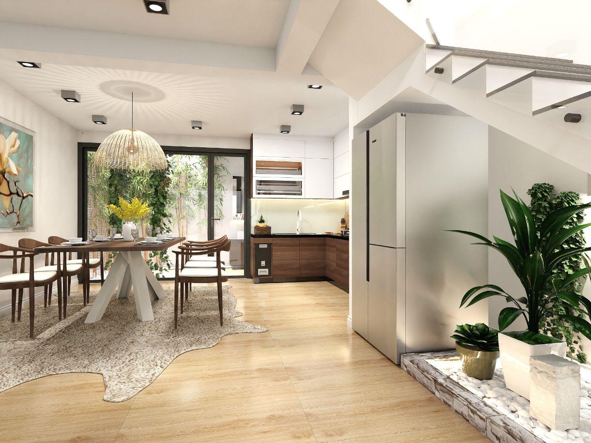Phòng bếp - Đánh giá khả năng chống thấm nước của sàn AnPro