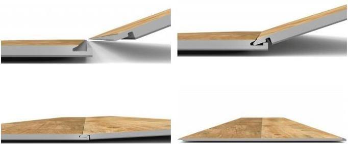 spc flooring installation 3 - Đánh giá khả năng chống thấm nước của sàn AnPro