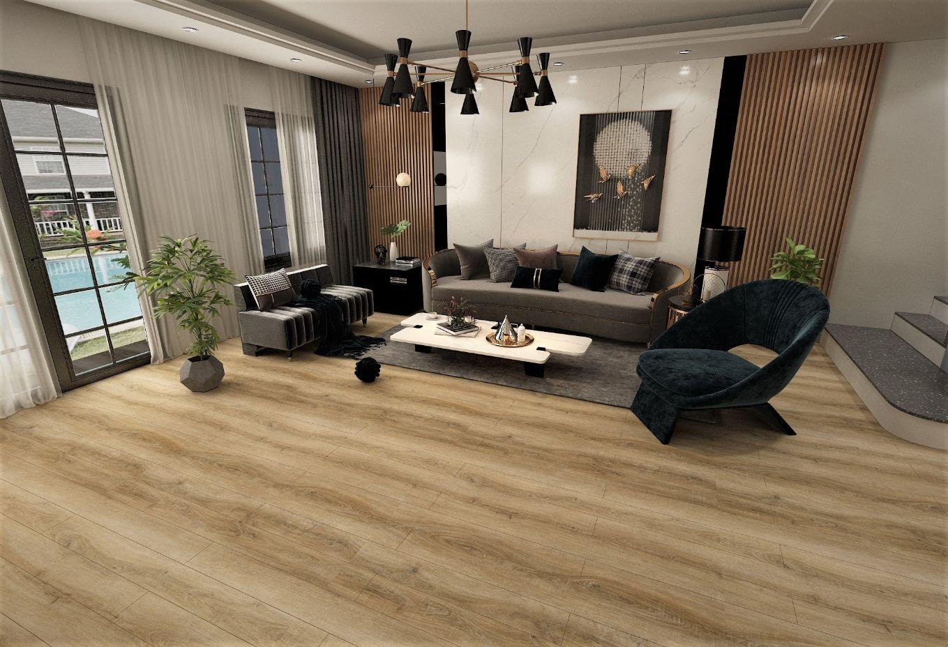 SA 110 3 - Không lo lỗi mốt với sàn vân gỗ AnPro trong thiết kế nội thất