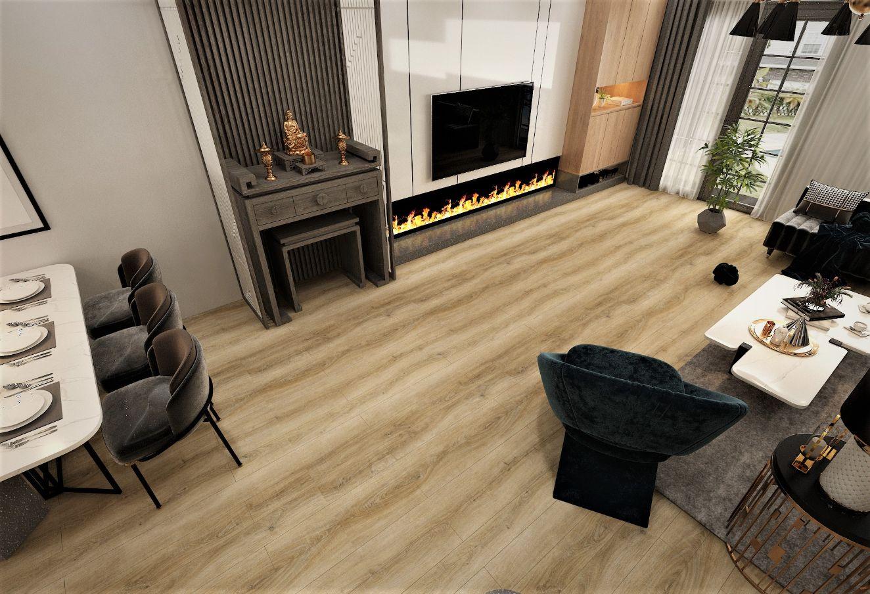SA 110 4 - Không lo lỗi mốt với sàn vân gỗ AnPro trong thiết kế nội thất