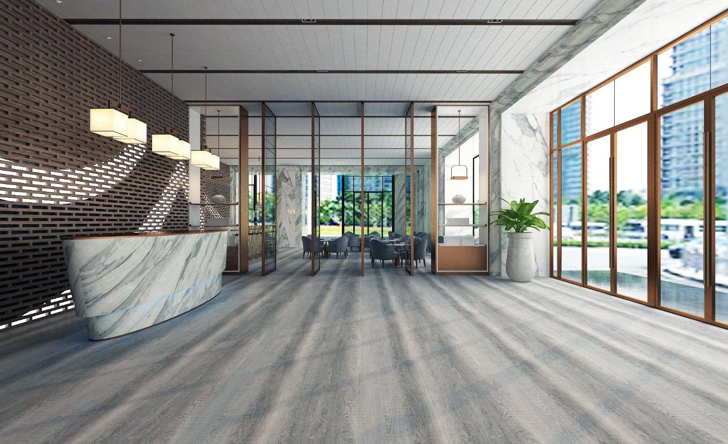 SA 111 2 - Không lo lỗi mốt với sàn vân gỗ AnPro trong thiết kế nội thất