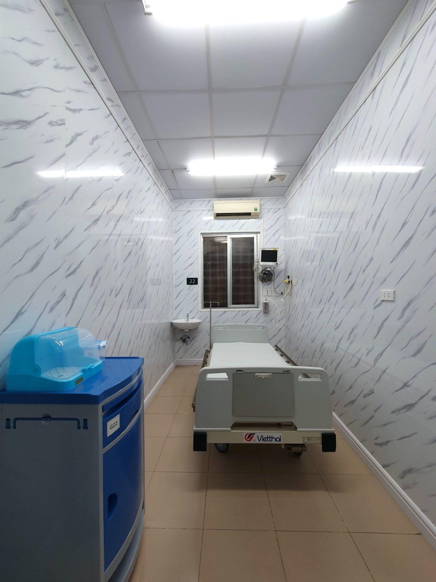 Trung tam DQ 1 - Vật liệu nội thất mới cho thiết kế bệnh viện hiện đại