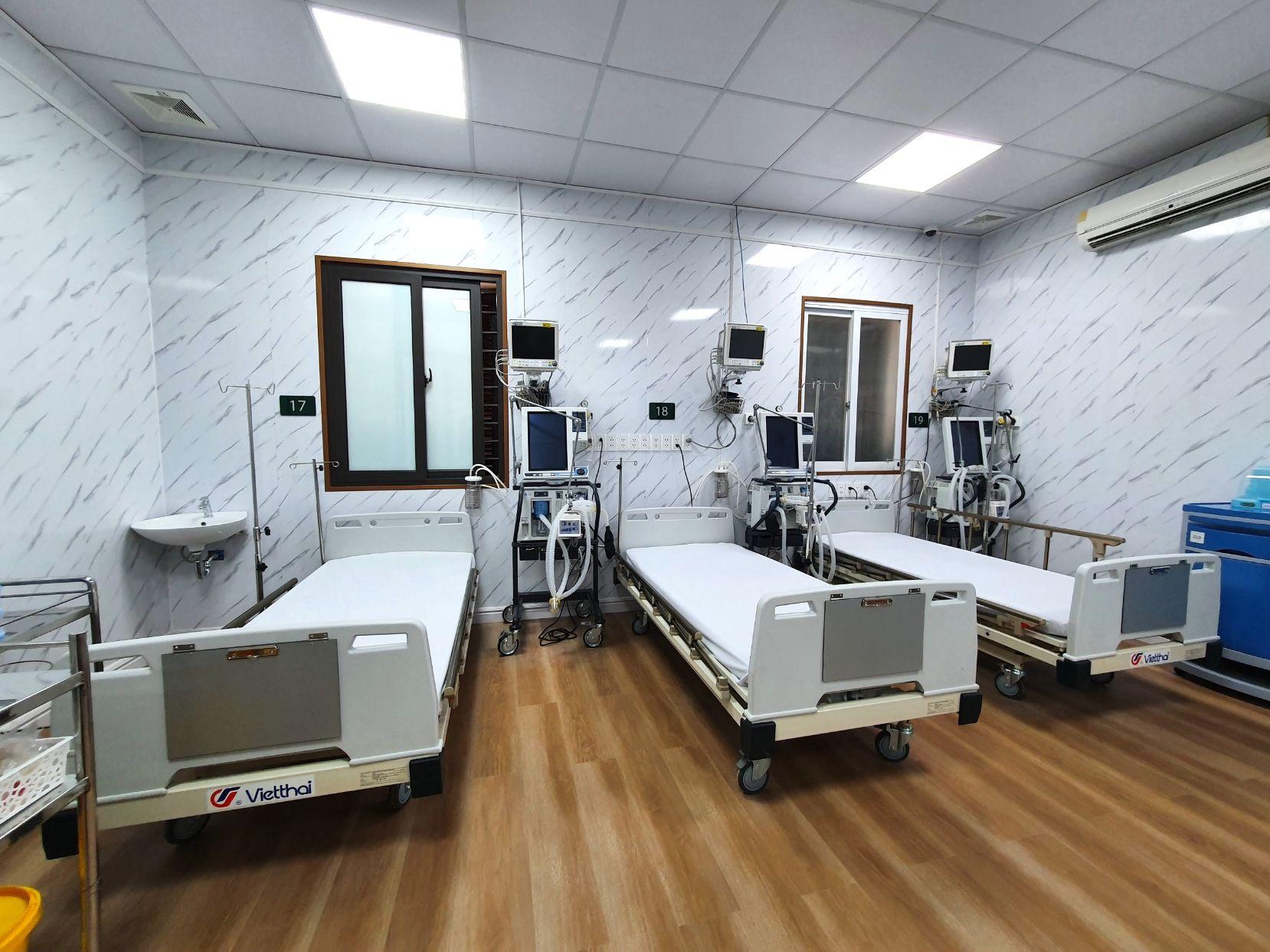 Trung tam dot quy - Vật liệu nội thất mới cho thiết kế bệnh viện hiện đại