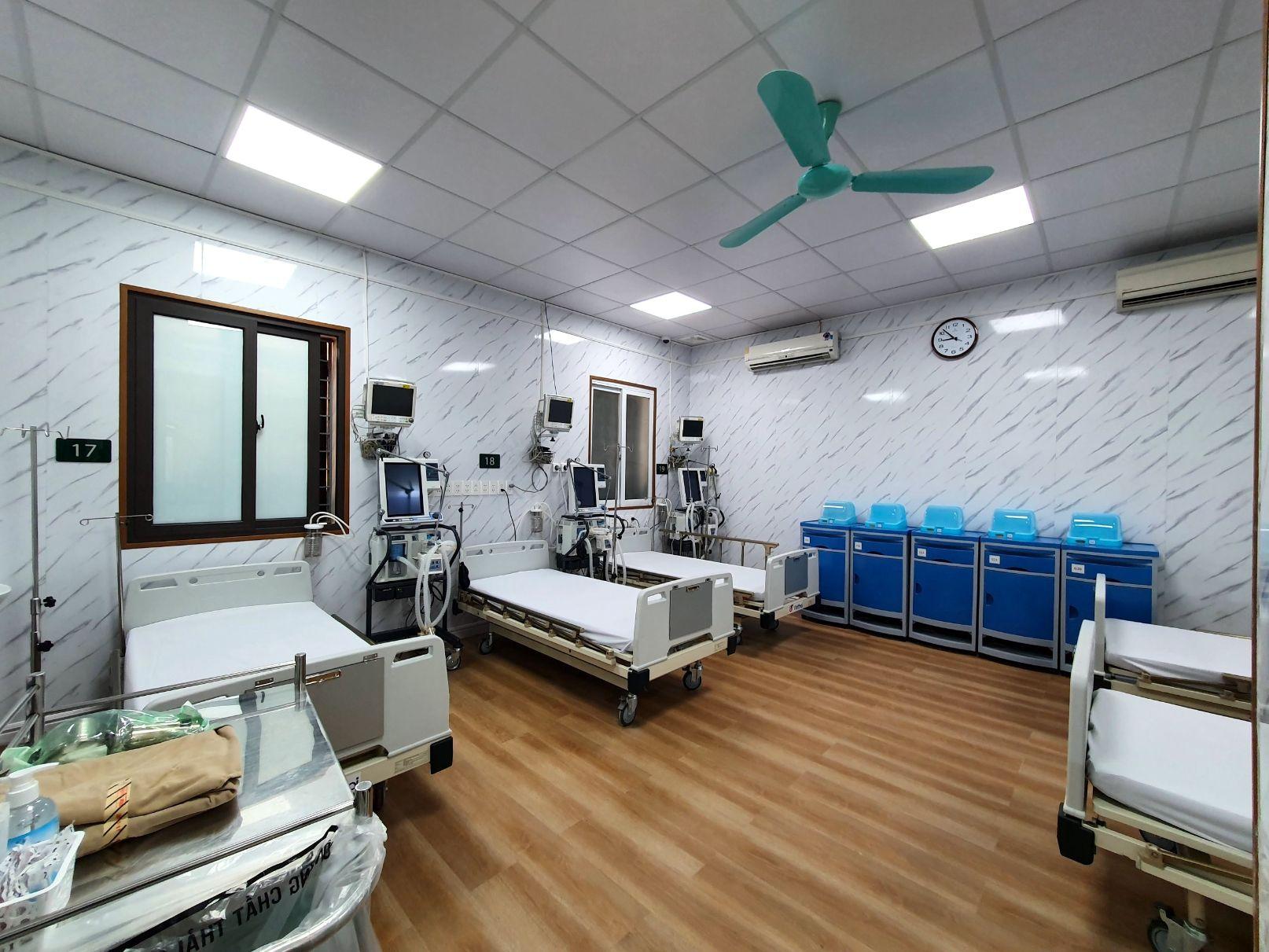 trung tam DQ 2 - Vật liệu nội thất mới cho thiết kế bệnh viện hiện đại