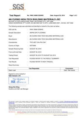 10 Chứng nhận Static Load Khả năng hồi phục độ lún sau tác động wall panel anpro 283x400 - Chứng nhận sản phẩm