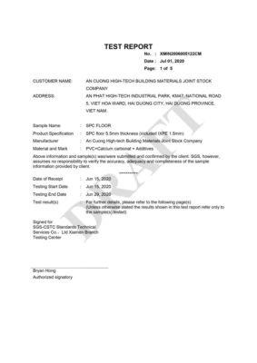 11 Chứng nhận cách nhiệt Impact Insulation Class ASTM E492 09 ASTM E989 18 include IXPE wall panel anpro 283x400 - Chứng nhận sản phẩm