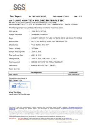 6 Chứng nhận Heat Stability ASTM F1514 03 2013 Khả năng chống lại sự thay đổi màu sắc do nhiệt wall panel anpro 283x400 - Chứng nhận sản phẩm
