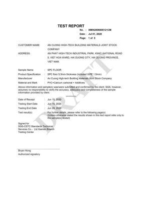 12 Chứng nhận cách âm Sound Transmission Class ASTM E90 092016 ASTM E413 16 include IXPE wall panel anpro 283x400 - Certificates