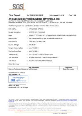 3. Chứng nhận Staining Resistance ASTM F925 13 Khả năng kháng hóa chất wall panel anpro 283x400 - Certificates