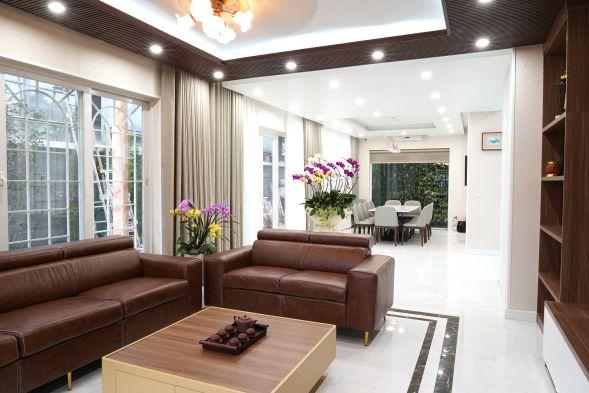 Anh 1 anpro - Biệt thự 260m2 của doanh nhân Hà Nội chọn AnPro làm điểm nhấn