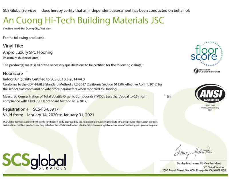 Floorscore 01 e1618883319890 - Certificates