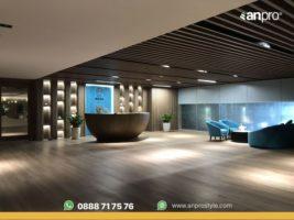 Nguyên liệu chất lượng cao, an toàn cho sức khỏe giúp sàn AnPro được ưa chuộng trong không gian yêu cầu sạch như spa, bệnh viện