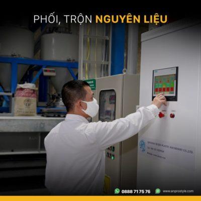 BAI 2 01 anpro 400x400 - Quy trình sản xuất sàn hèm khóa công nghệ cao AnPro